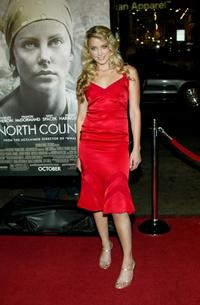 Amber Heard at the premiere of
