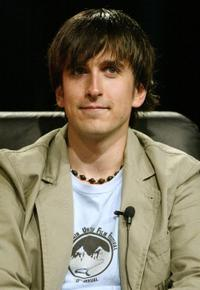 Nicolas Wright at the panel discussion for