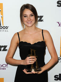Shailene Woodley at the 15th Annual Hollywood Film Awards Gala in California.