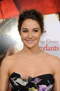 Shailene Woodley at the California premiere of