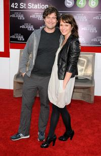Mark Duplass and Katie Duplass at the premiere of