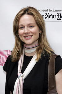 Laura Linney at the 19th Annual Broadway Flea Market & Grand Auction For Broadway Cares in N.Y.
