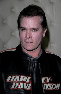 Ray Liotta at the after party following