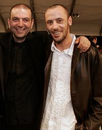 Director Hany Abu-Assad and Ali Suliman at the Film Independent's 2006 Independent Spirit Awards.
