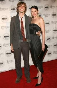 Matthew Gray Gubler and Paget Brewster at the 14th Annual Diversity Awards Gala.