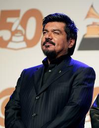 George Lopez at the 50th annual Grammy Award Nominations.