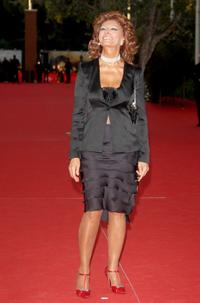 Sophia Loren at the 2nd Rome Film Festival for the premiere of
