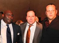 Faizon Love, Director Jon Favreau and Vince Vaughn at the after party of the premiere of