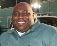 Faizon Love at the premiere of