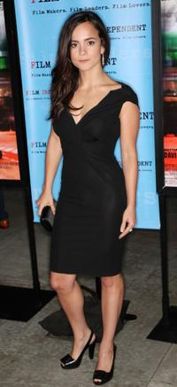 Alice Braga at the screening of