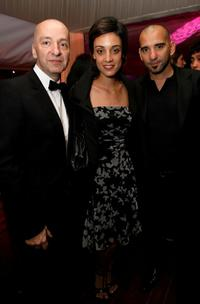Martina Gusman, Pablo Trapero and Guest at the Finecut Party For Leonera And the Chaser during the 61st International Cannes Film Festival.