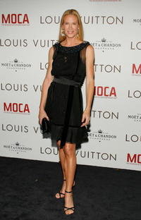 Kelly Lynch at the Murakami Gala at MOCA hosted with Louis Vuitton event honoring fashion designer Marc Jacobs.