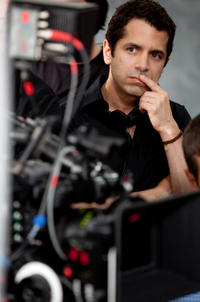 Director Daniel Barnz on the set of