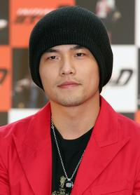Jay Chou at the press conference to promote
