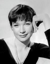 Shirley MacLaine at France.