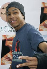 Brandon T. Jackson at the