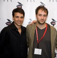 Ralph Macchio and Jordan Galland at the screening of