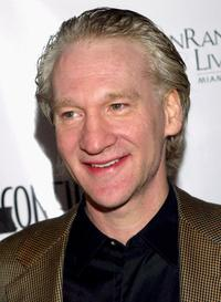 Bill Maher at the Los Angeles Confidential Pre-Emmy party.