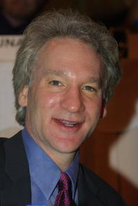 Bill Maher at the Hollywood Radio and Television Society Newsmaker Luncheon.