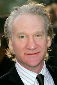 Bill Maher at the Vanity Fair Oscar Party.
