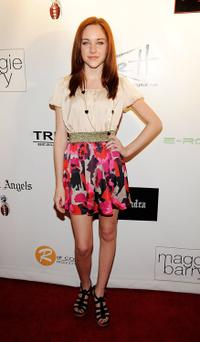 Haley Ramm at the Maggie Barry Fall 09 Fashion Show.