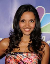 Jessica Lucas at the 2010 NBC Upfront presentation.