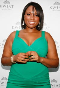 Jennifer Hudson at the grand opening of the Kwiat flagship boutique.