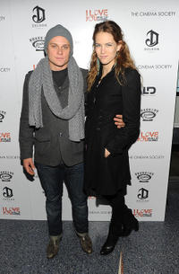 Billy Magnussen and Cody Horn at the New York premiere of