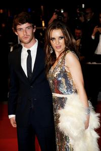 Harry Treadaway and Kierston Wareing at the 62nd International Cannes Film Festival.