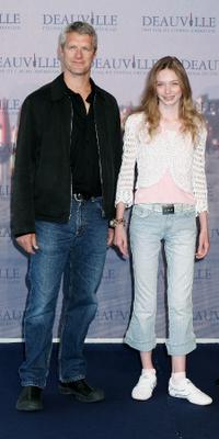 Neil Burger and Eleanor Tomlinson at the photocall of