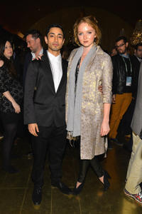 Rizwan Ahmed and Lily Cole at the