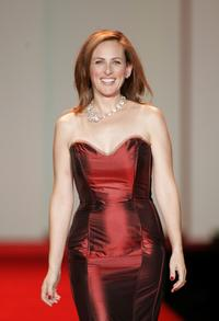 Marlee Matlin at the Red Dress Fall 2007 fashion show.