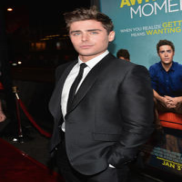 Zac Efron at the California premiere of