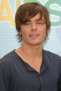 Zac Efron at the Madrid photocall of