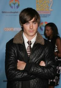 Zac Efron at the DVD premiere of