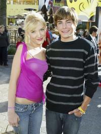 Shelley Buckner and Zac Efron at the California premiere of
