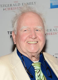 Malachy McCourt at the New York premiere of
