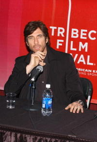Dylan McDermott at the press conference for the film