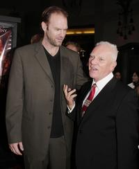 Malcolm McDowell and Tyler Mane at the premiere of MGM's