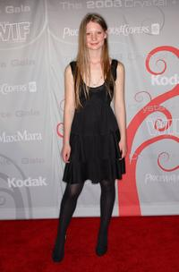 Mia Wasikowska at the Women In Film's 2008 Crystal Lucy Awards.