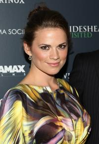 Hayley Atwell at the screening of