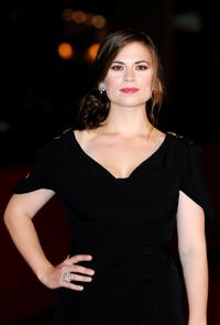 Hayley Atwell at the premiere of