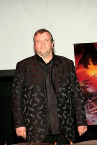 Meat Loaf at the Press conference for his ''Bat Out Of Hell 3'' Listening Party.