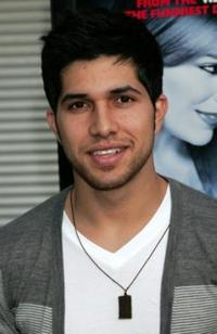 Walter Perez at the premiere of