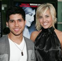 Walter Perez and Kherington Payne at the premiere of