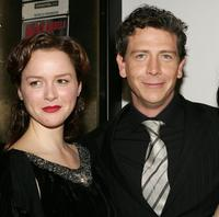 Eloise Oxer and Ben Mendelsohn at the world premiere of