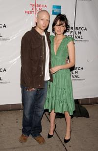 Mark Webber and Frankie Shaw at the premiere of