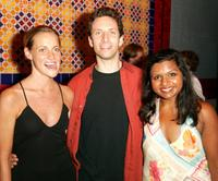 Brenda Withers, Ben Shenkman and Mindy Kaling at the party celebrating opening night of