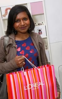Mindy Kaling at the Luxury Lounge in honor of the 2008 SAG Awards.