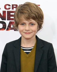 Ty Simpkins at the  New York premiere of